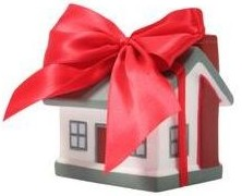 Home wrapped in a bow