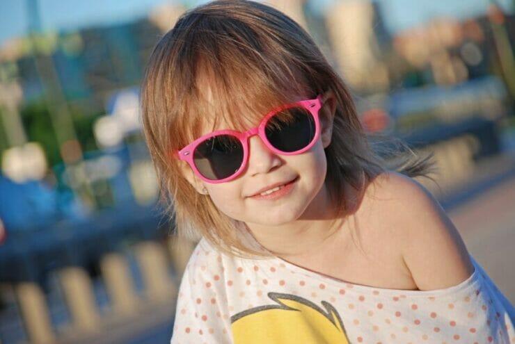 Confident little girl