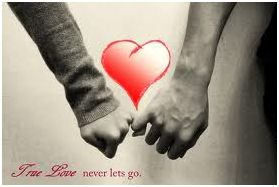 True love never lets go.
