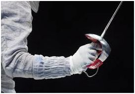Fencing foil