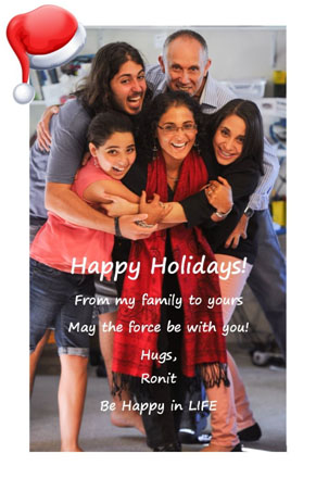 Be Happy family wishing you happy holidays