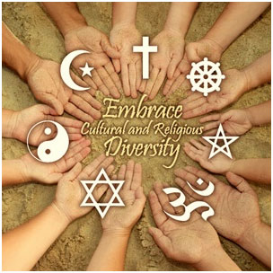 Embrace cultural and religions diversity