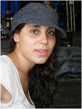 Teenager wearing a hat