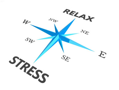Compass of stress and relax