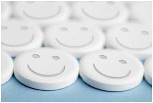 Smiley pill