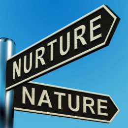 Signs directing to Nurture and Nature