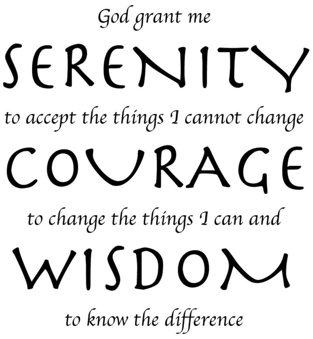 The serentiy prayer