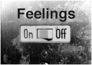 Feelings on off switch
