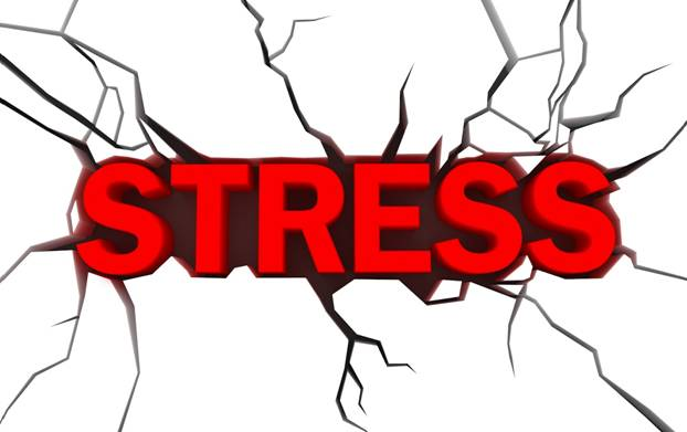 Stress - it can come from many sources of pressure