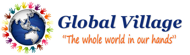 Global Village. The whole world is in our hands. This is my program for world peace