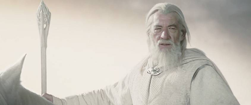 Gandalf the White Wizard
