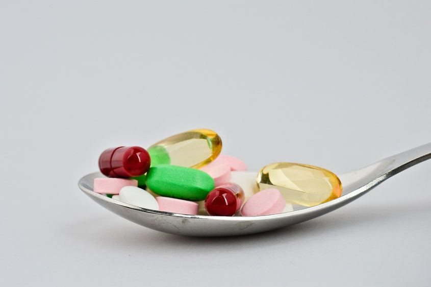 A spoonful of pills