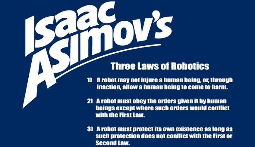 Isaac Asimov's Three Laws of Robotics