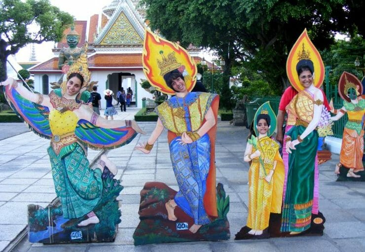 Baras family in Thailand