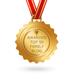 Top 50 Family Blog Award