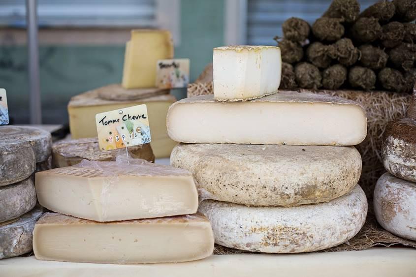 Blocks of chees