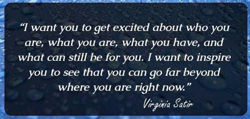 Quotes virginia satir Quote by