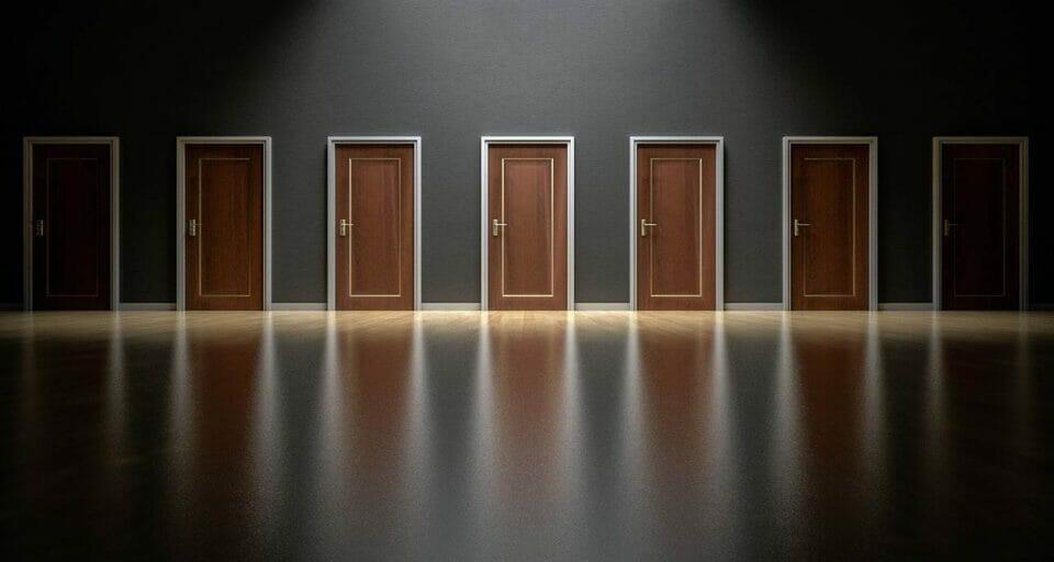 Illuminated doors to choose from