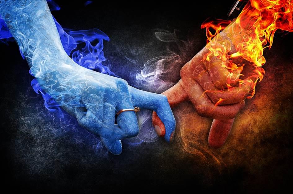 Good relationship - holding hands