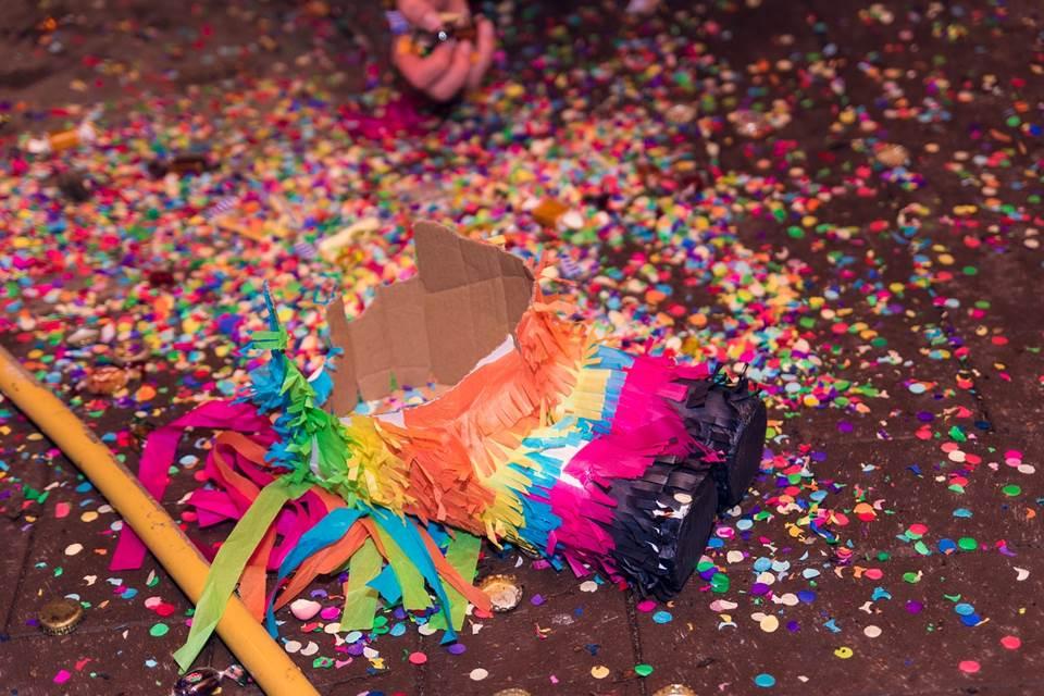 Smashed Piñata