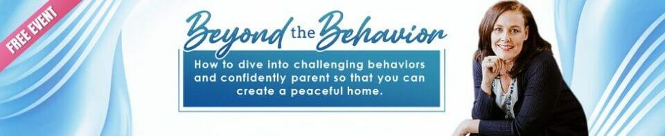 Beyond the Behavior event banner